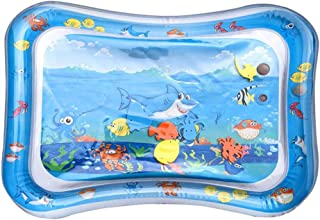 Inflatable Playmat - Hamkaw Premium Leakproof Water Mat Crawling Mat for Baby and Toddlers, Fun Tummy Time Mat Water Play Mat for Baby's Stimulation Growth BPA Free