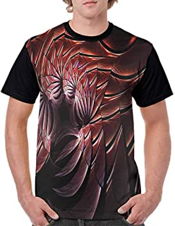 BlountDecor Casual Short Sleeve Graphic Tee Shirts,Old School American Muscle Fashion Personality Customization