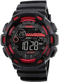 GoolRC 1243 Digital Electronic Men Watch Fashion Casual Outdoor Sports Male Wristwatch Dual Time Date Week Countdown Chron...