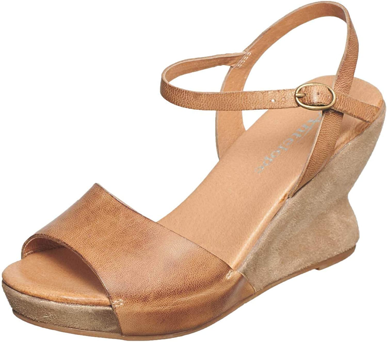Antelope Women's 690 Leather Hourglass Wedge Quarter Strap