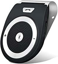 Wireless in-Car Speakerphones,TIANSHILI HandsFree Talking Visor Clip Bluetooth..