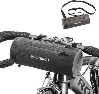 ROCKBROS(ロックブロス)フロントバッグ フレームバッグ 自転車 サイクリング 多機能 防水 クロスバイク 軽量 ハンドルバッグ ロードバイク 大容量