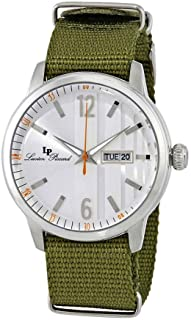 Lucien Piccard Milanese Green Textile Men's Watch 40027-02S-GRNS