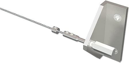 vernickelt Metall 40 Stück Flairdeco Seilhaken für Seilspanngarnituren