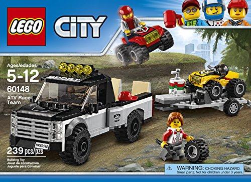 Super Équipe de Course Tout-Terrains Camion Pickup LEGO City - 60148 - 239 Pièces - 1