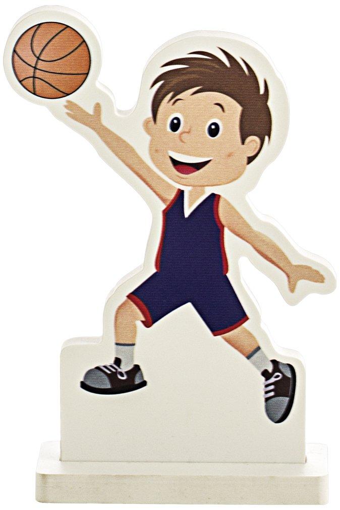 Art-Trophies TP11801 Trofeo Deportivo Basket Muñeco, 15 cm: Amazon ...