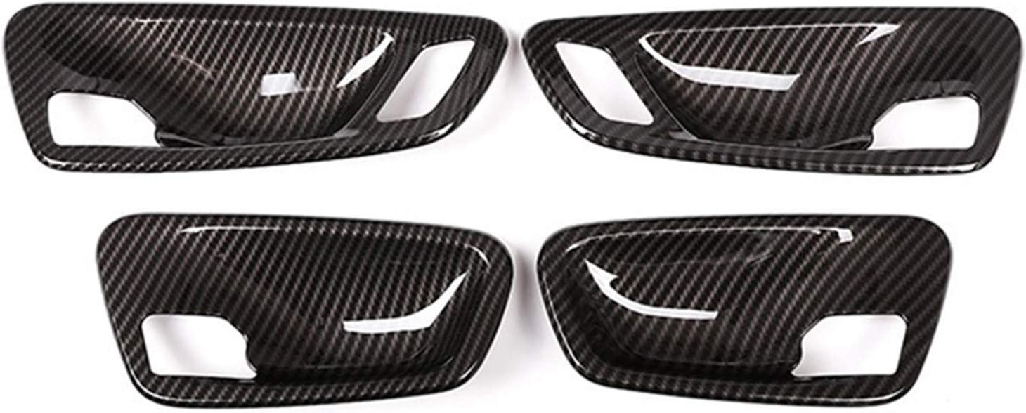 lifmagic Car Interior Door Bowl Max 64% OFF Cover depot Trim for Fit Carbon Fiber