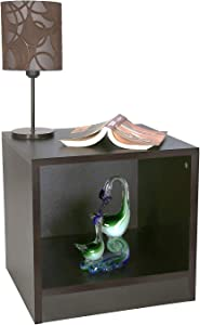 ComfyBean Engineered Wood Bed Side Table (Wenge)