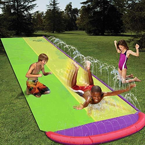Slip and Slide Extreme Giant Backyard Waterslide Summer Water Sports Toys,Children's SlipSheetsPeopleSurfboardGardenToys