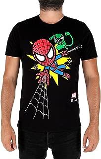 Tokidoki Marvel Comics Action Spidey Spider-man Scorpion Men's Black T-Shirt