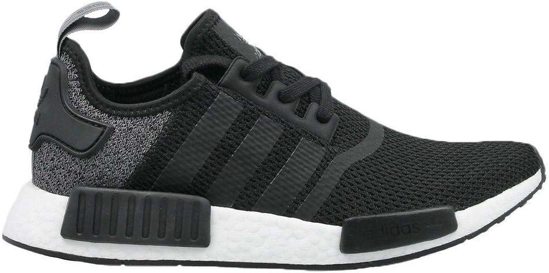 Adidas Mens NMD_R1 Trainer in Black Grey