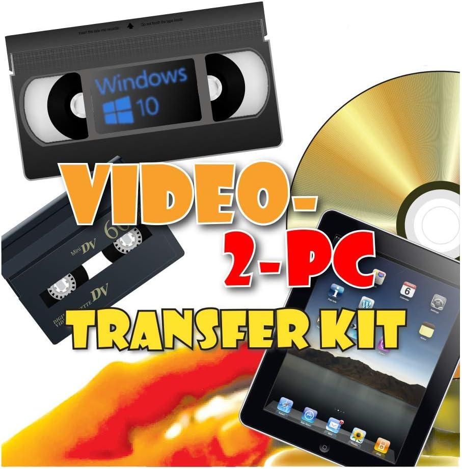 Video-2-PC DIY Video Capture Kit for 7 [Alternative dealer] 8 Cheap bargain Windows 10 Vist 8.1