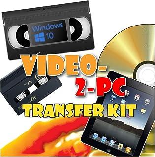 Video-2-PC Kit capture vidéo pour Windows 10, 8 and 7 pour copier, convertir,..