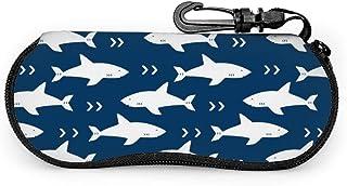 Funda Gafas Tiburón animal oceánico Neopreno Estuche Ligero con Cremallera Suave Gafas Almacenaje