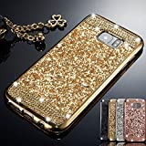 ZCDAYE Case for Huawei P8 Lite, Bling Glitter [Crystal