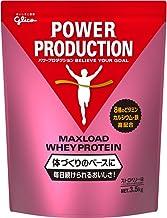 グリコ パワープロダクション マックスロード ホエイ プロテイン ストロベリー味 3.5kg [使用目安 約175食分] たんぱく質 含有率70.3%(無水物換算値) 8種類の水溶性 ビタミン カルシウム 鉄 配合