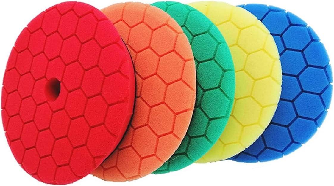 LIULIANG MeiKeL 4 6 7 Inch Buffing Superlatite Pads Waxing New life Polishing Sponge