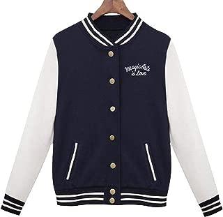 Aancy Splice Sleeves Baseball Jacket 2018 Spring Autumn College Jackets Style Women Bomber Jacket Casacos Femininos