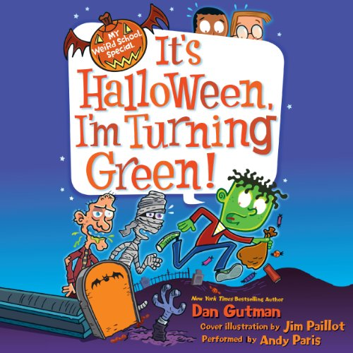 It's Halloween, I'm Turning Green! cover art
