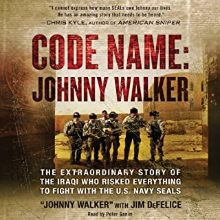 Code Name: Johnny Walker audiobook cover art