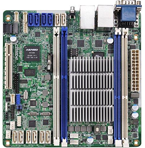 ASRock C2550D4I Serverfestplatte, Intel, DDR3-SDRAM, Mini-ITX, Dual, FBGA1283