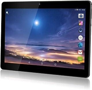 """TYD(JP) デュアルSIMカードスロットを備えた10 インチのAndroidタブレット3G携帯電話を呼び出すPhablet 2GB RAM 32GB ROM Octa Core 10.1 """"Wi-FiとカメラのGPS内蔵 (黒)TYD-108-Black (黒)"""