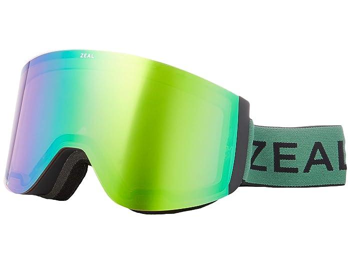 Zeal Optics Hatchet (Upland Sage w/ Jade Mirror + Sky Blue Mirror) Snow Goggles