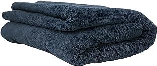 "Chemical Guys MIC_808 Black Edgeless Microfiber Towel 51"" x 30"""