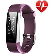 LETSCOM Fitness Tracker HR, Activity Tracker Watch with Heart Rate Monitor, Waterproof Smart...