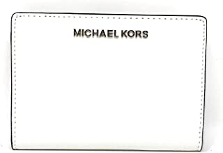 Michael Kors Jet Set Travel Leather Medium Card Case Carryall Wallet with Removable ID Card Holder