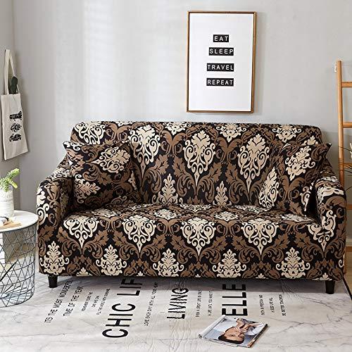 Fundas de sofá elásticas para Sala de Estar Funda elástica Funda de sofá seccional Funda de sillón en Forma de L A11 2 plazas