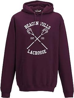 KiarenzaFD Felpa Cappuccio Lacrosse Beacon Hills Stilinski McCall Serie TV Uomo