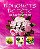 Bouquets de fête en papier crépon