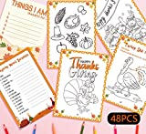 "Package includes 24 coloring pages(3 designs) + 24 activity pages (3 designs) +1 answer key. Material - Made of paper, one side printed. Size - Each sheets measures 5.82"" x 8.26"".Prefect size for you to show your painting. Great party game or favor f..."