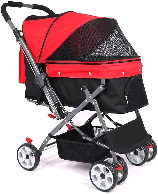 Daeou Pet StrollerDogs out, big carts, portable carts.