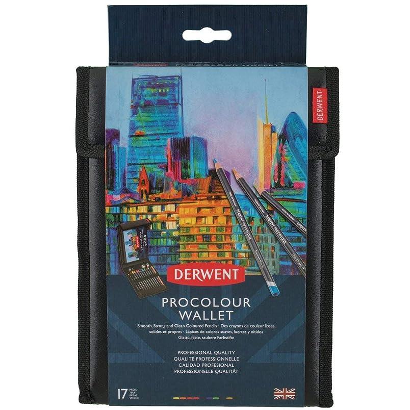 Derwent Procolour Wallet, Colored Pencils, Includes A5 Sketching Pad, 10 Procolour Pencils, 2 Graphic Pencils, and More (2302582) hb086250562