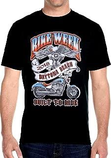 Mens Eagle Daytona Beach Bike Week 2018 Tee Shirt