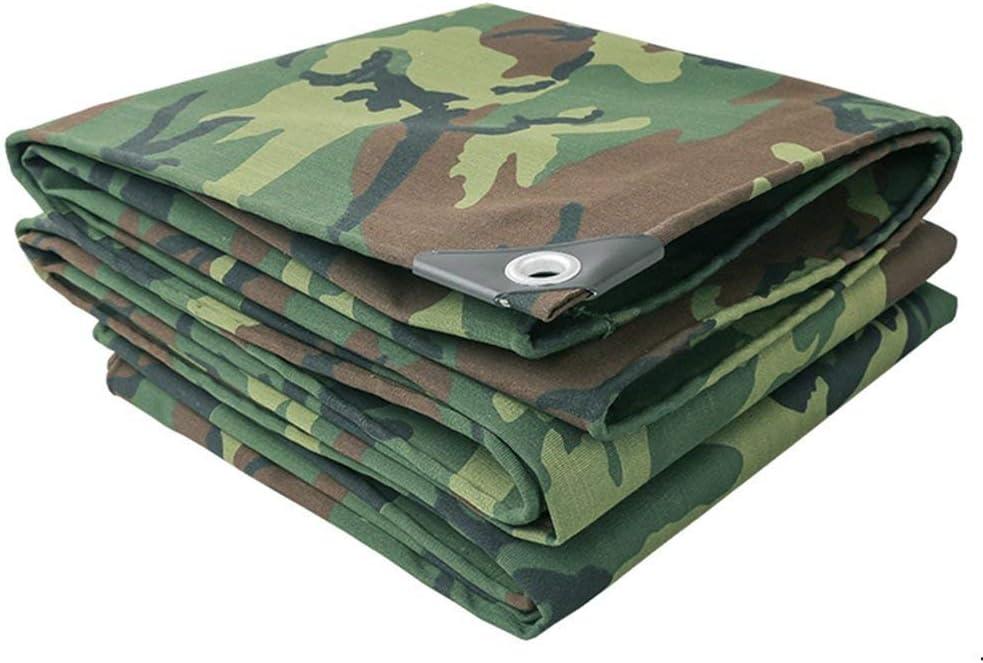 YUMUO Protège-Matelas étanche mimétique Camouflage Tarpaulin (Dimensions: 3x3m) 17