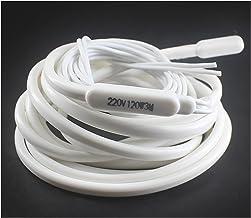 Popular Silicon Heater Draad Constant Temperatuur 22 0V 1/1,5/2 / 2.5M Lengte Anti-vriespunt Elektrisch verwarmingselement...