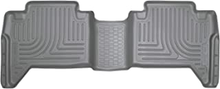 Husky Liners Fits 2016-19 Toyota Tacoma Double Cab Weatherbeater 2nd Seat Floor Mat