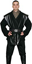 Jedi-Robe - Men's Costume Tunic Set - Compatible with Anakin Skywalker Star Wars Costumes