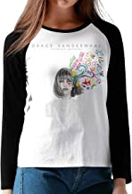 WWHKJLOGK Grace VanderWaal Ectly Imperfect Women's Long Sleeve Baseball T-Shirts