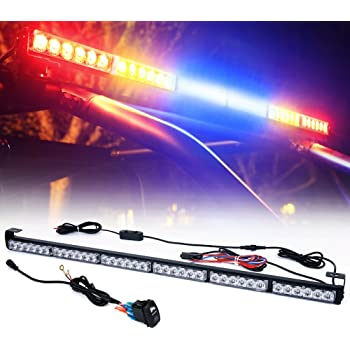 """Xprite 36"""" Rear LED Chase Light Bars, All in One w/Strobe Brake Reverse Light for Jeeps, Yamaha, Can-Am Maverick X3, ATV, UTV, Side by Side and Offroad Vehicles - RYBBYR"""