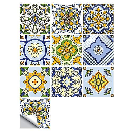 20 Piezas Autoadhesivas Pvc Diagonal Azulejos De Cerámica Pegatinas Impermeables Calcomanías De Cocina Diy Cocina Baño Hogar Azulejo Pegatina MZ-114
