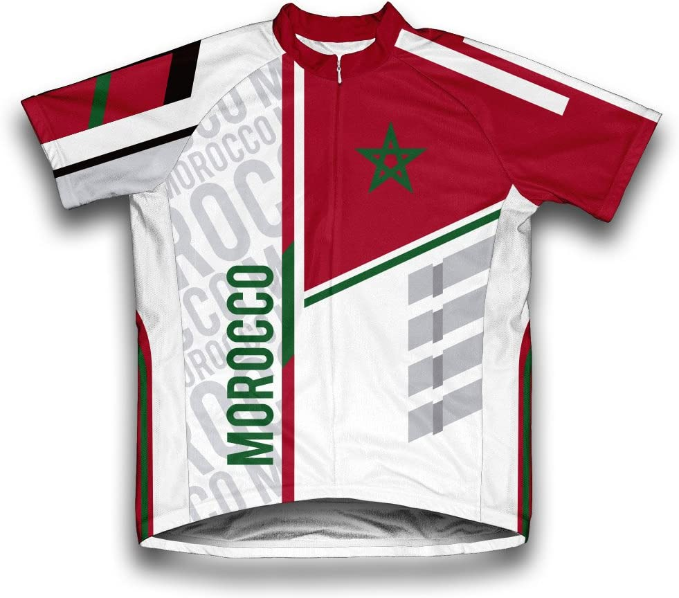 ScudoPro Morocco Popular shop is the lowest Excellent price challenge Short Sleeve Men for Cycling Jersey