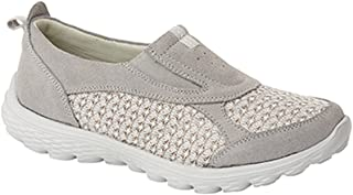 comprar comparacion Boulevard - Zapatillas deportivas sin cordones con elásticos laterales para mujer