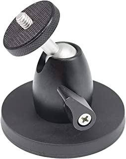 """Magnetic Camera Mount 1/4"""" Thread,360° Magnetic Camera Stand Magnetic Foot attaches to Steel or Other Magnetic Surfaces fo..."""
