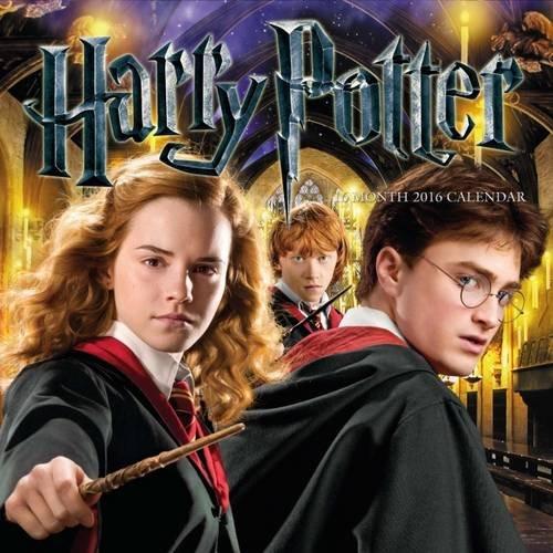 The Official Harry Potter 2016 Square Calendar (Calendar 2016)