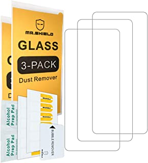 [3-Pack]-Mr.Shield for Xiaomi Redmi Note 9 Pro [Tempered Glass] [Japan Glass with 9H Hardness] Screen Protector with Lifet...