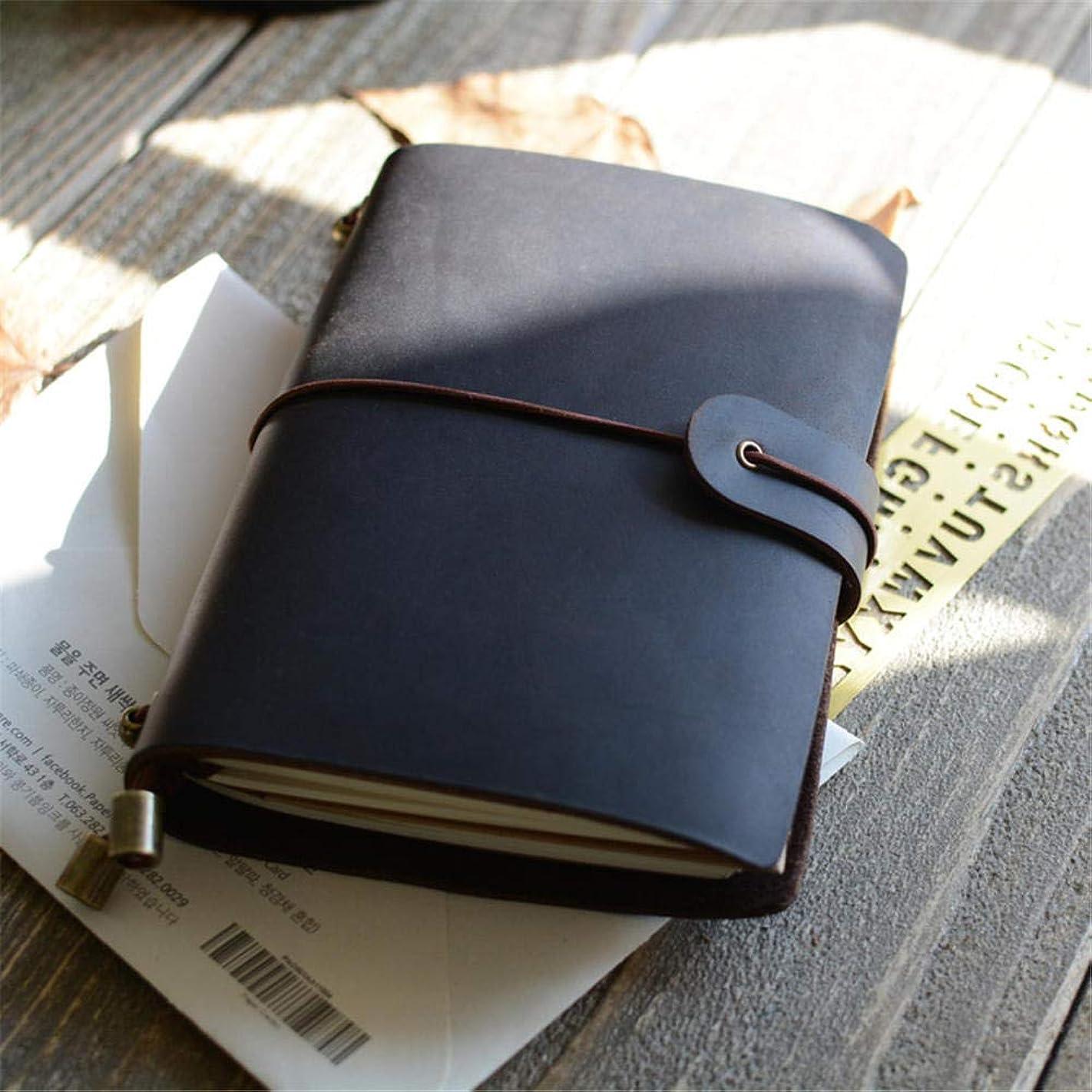 ビジネスノートブック、男性と女性のための高品質の厚紙模造革のクラシックノートブック